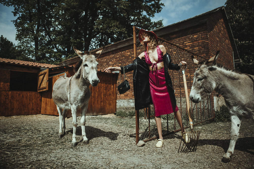 Hot in the shade for L'Officiel Baltics